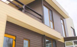 сайдинговые фасадные панели