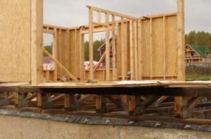 Материалы необходимые для строительства каркасного дома