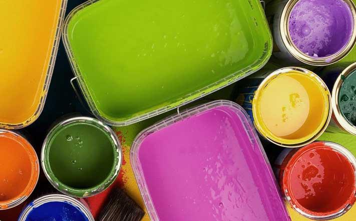 Водоэмульсионная краска расход