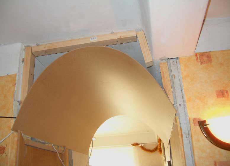 арка из фанери