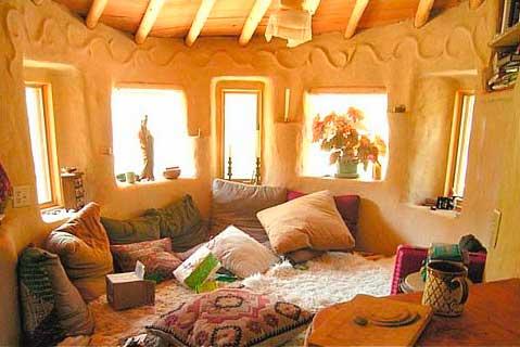 глинобитное жилище