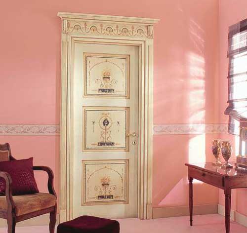 варианты декора межкомнатных дверей