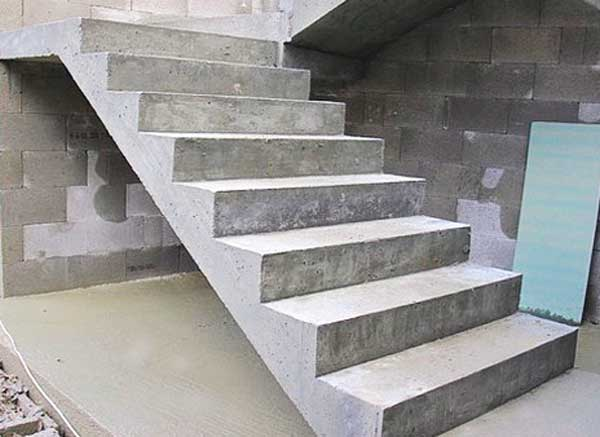 Лесенка из бетона рынок бетона