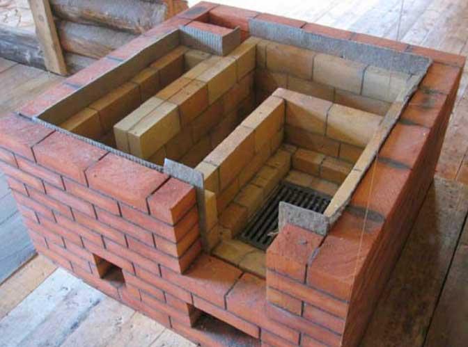 материал для строительства отопительных кирпичных печей