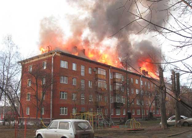 пожарная безопасность жилого дома