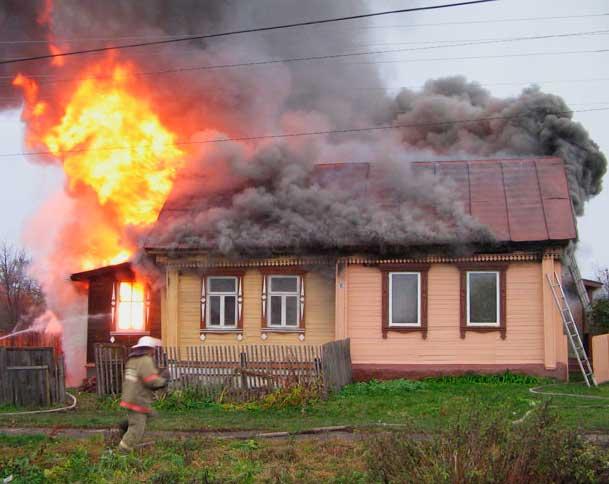 правила пожарной безопасности в доме
