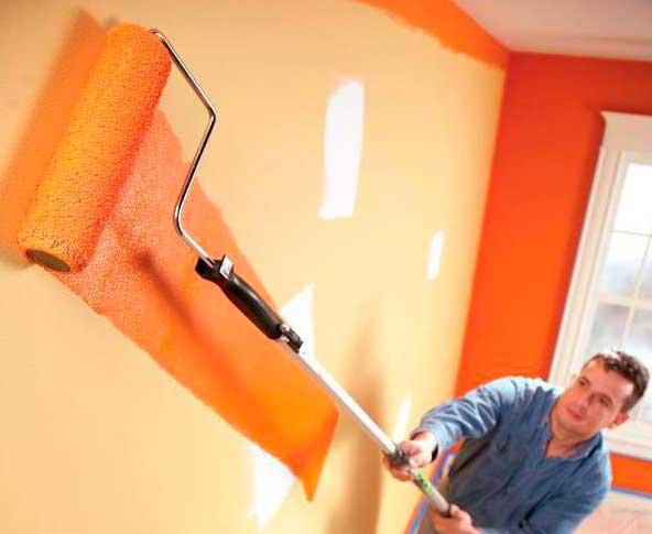 расход водоэмульсионной краски на 1 м2 стены