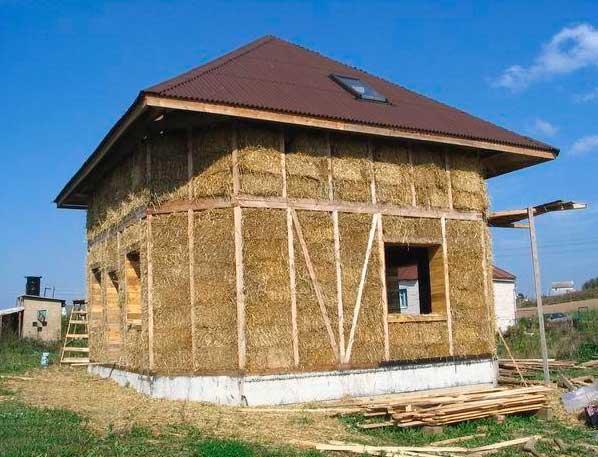 дом из легкого самана