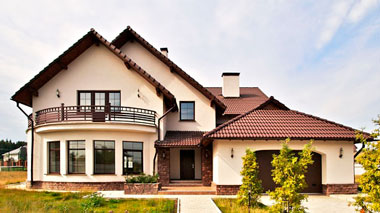 фасад дома отделка