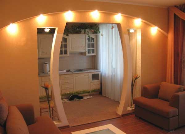 арки в интерьере