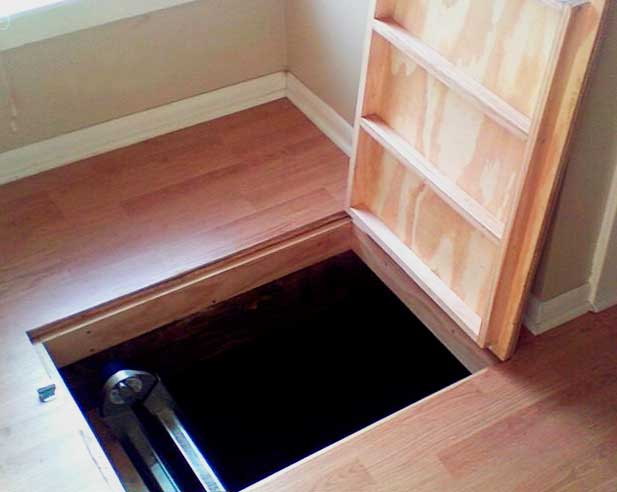 Крышка для люка в подвал