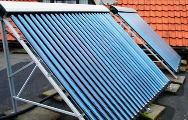 вакуумный солнечный коллектор для частного дома