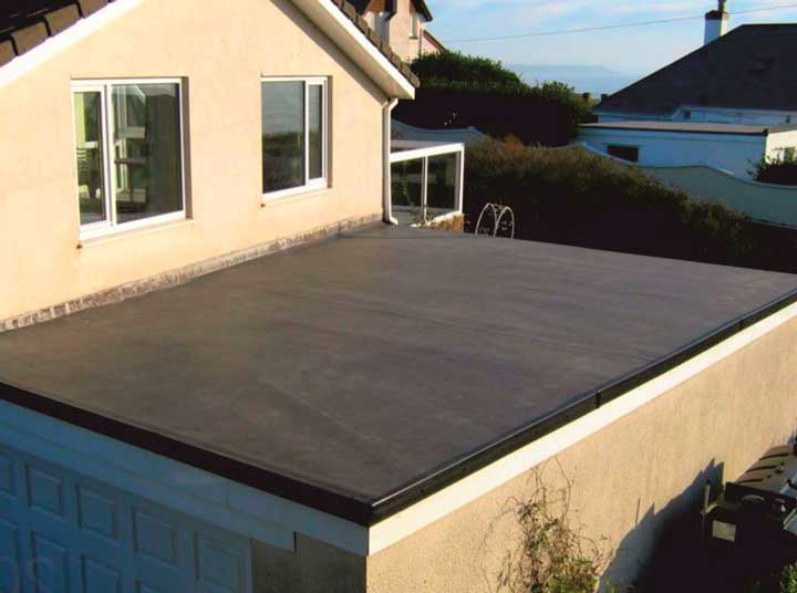 Кровельные материалы для покрытия плоской крыши