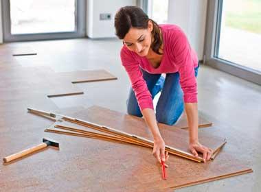 Пробковые полы укладка, плюсы и минусы покрытия