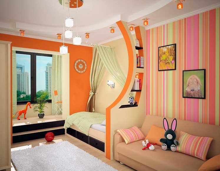 ремонт детской комнаты для двоих детей