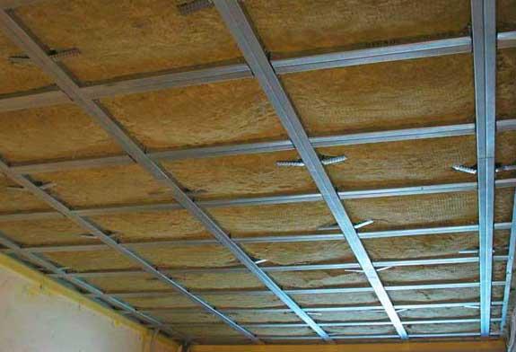 Правильное утепление потолка минватой