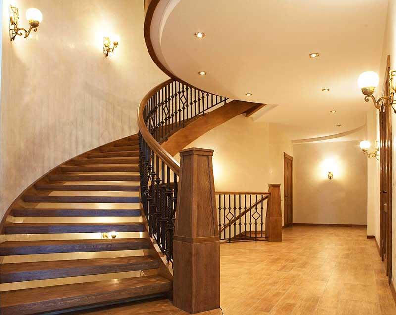 Криволинейные лестницы