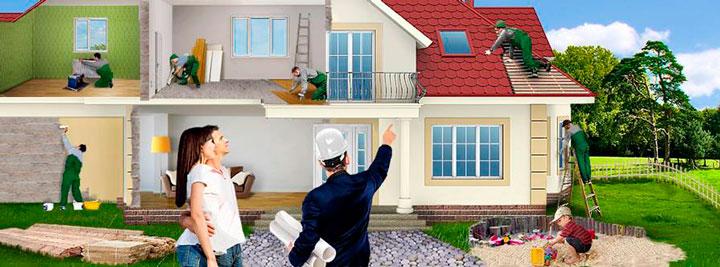 Оставьте заявку на ремонт дома