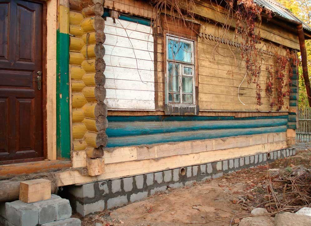 укрепление ленточного фундамента деревянного дома своими руками