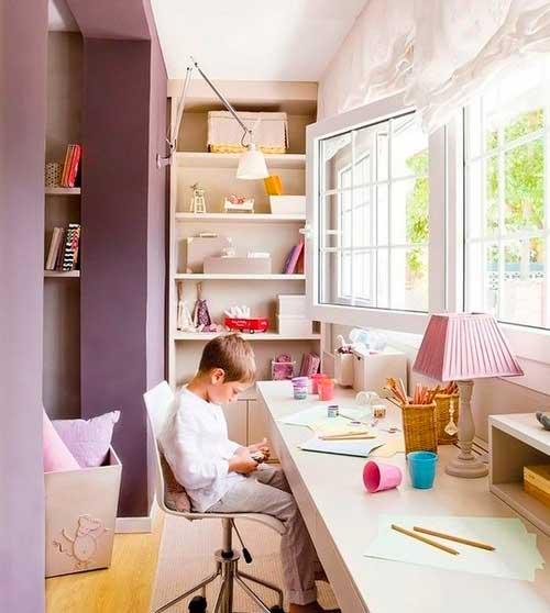 ремонт детской комнаты с балконом