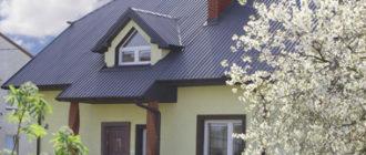 крыша из профнастила