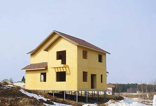 Строительство фундамента каркасного дома на торфяном грунте
