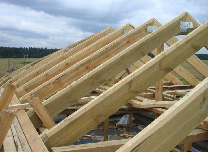 Устройство стропильной системы двускатной крыши своими руками