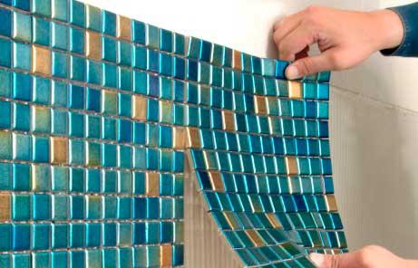 Монтаж и укладка мозаики своими руками