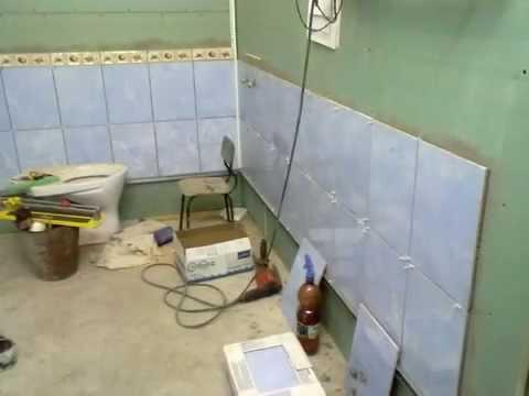 Ванная в деревянном доме: подготовка поверхности под плитку