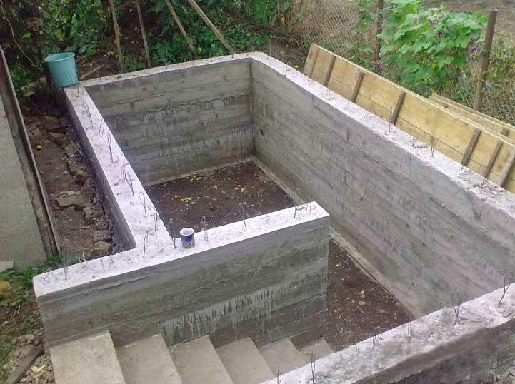 Лестница в погреб своими руками