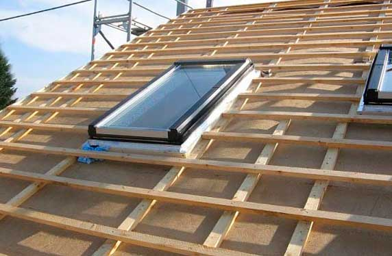 Материалы для монтажа обрешетки крыши