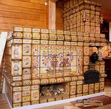 Русская печь своими руками для бани и дома
