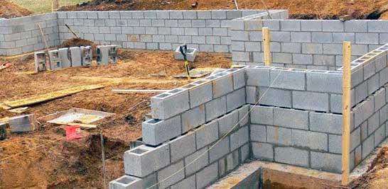 бетонный блок фундаментный размеры