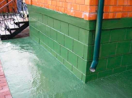 жидкая гидроизоляция фундамента дома