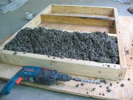 как сделать жаропрочный бетон