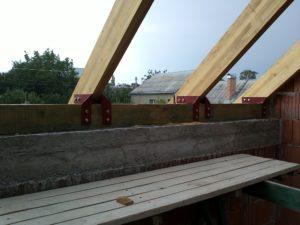Крепление мауэрлата на мансардной крыше
