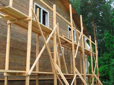строительные леса своими руками