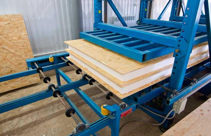 оборудование для изготовления сэндвич панелей
