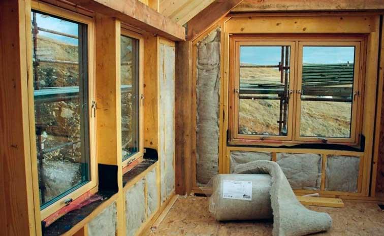 Утепление щитового дома изнутри