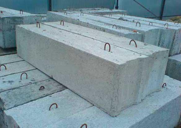 блоки фундаментные фбс размеры гост