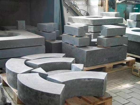 Огнеупорные бетоны на силикатной связке