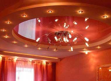 Особенности подвесных потолков