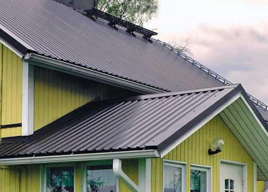 Правильная обрешетка крыши из доски для кровли частного дома