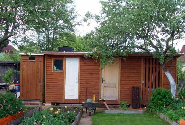 хозяйственные постройки из дерева