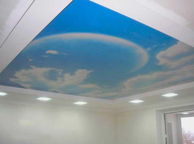 Натяжные подвесные потолки
