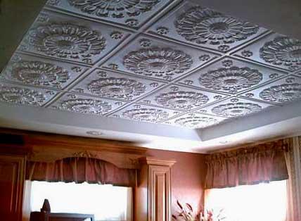 Клеевые подвесные потолки