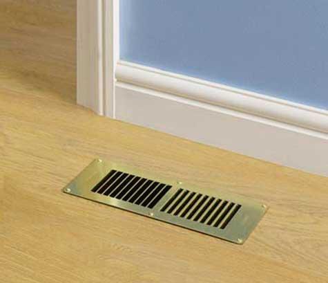 вентиляционные отверстия в полу