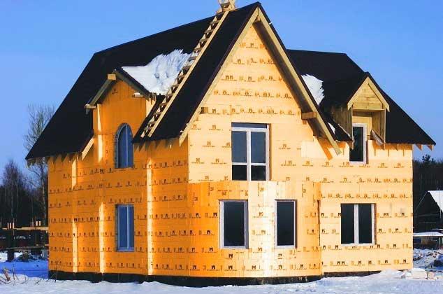 дом, утепленный пенофлексом