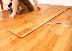 Особенности укладки ламината на деревянный пол