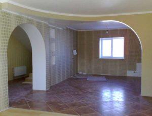 Дом внутри после капитального ремонта